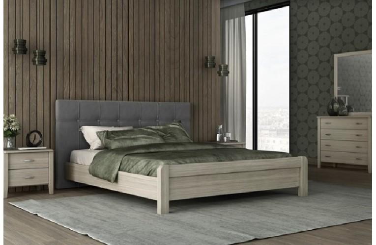 Κρεβάτι Νο 55 ΓΚΡΙ ΣΚΟΥΡΟ ΟΛΙΒ