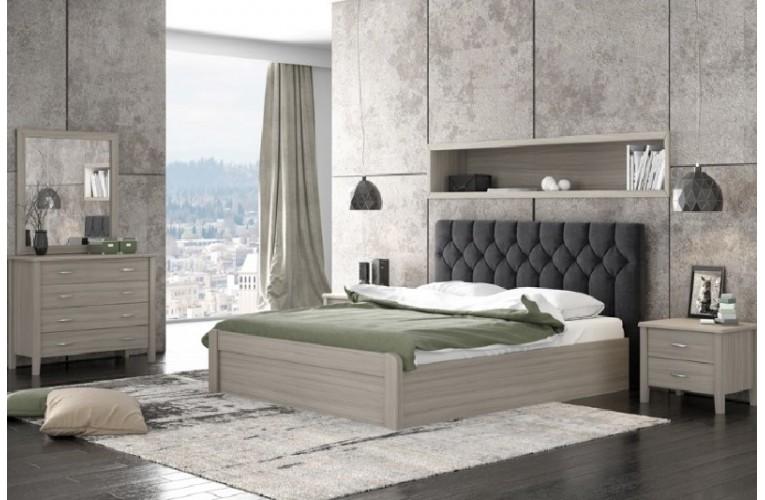 Κρεβάτι Νο 56 ΜΑΥΡΟ ΟΛΙΒ