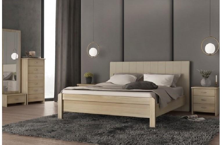 Κρεβάτι ΝΟ 57 ΕΚΡΟΥ ΛΑΤΤΕ