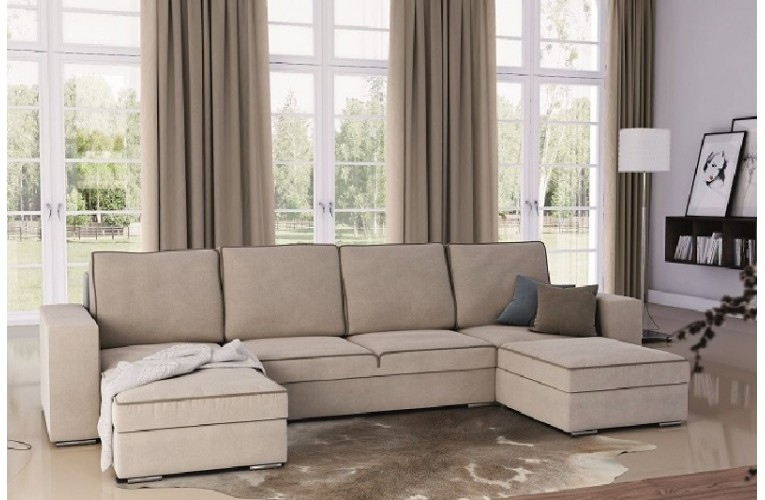 Καναπές  DAKOTA σε σχήμα Π 326Χ170/170Χ90