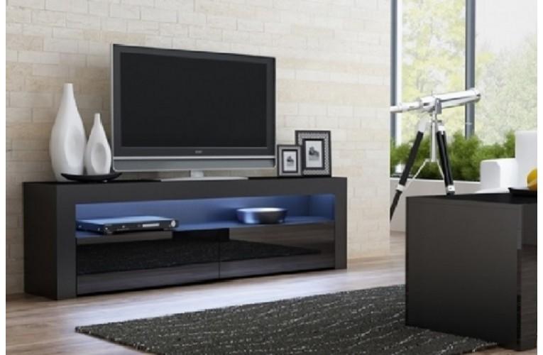Επιπλο TV MILANO 157 μαύρο