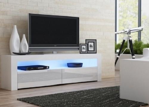 Επιπλο TV MILANO 157 λευκό