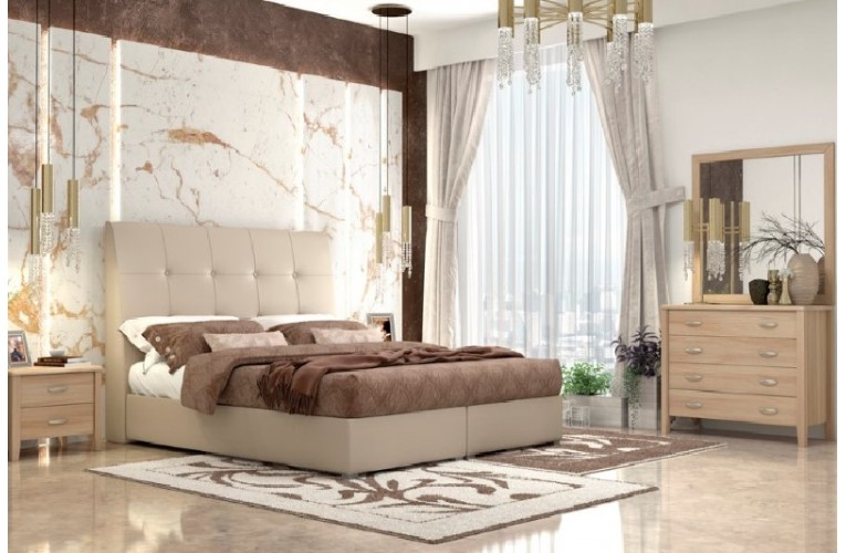 Κρεβάτι Νο 60  μπεζ