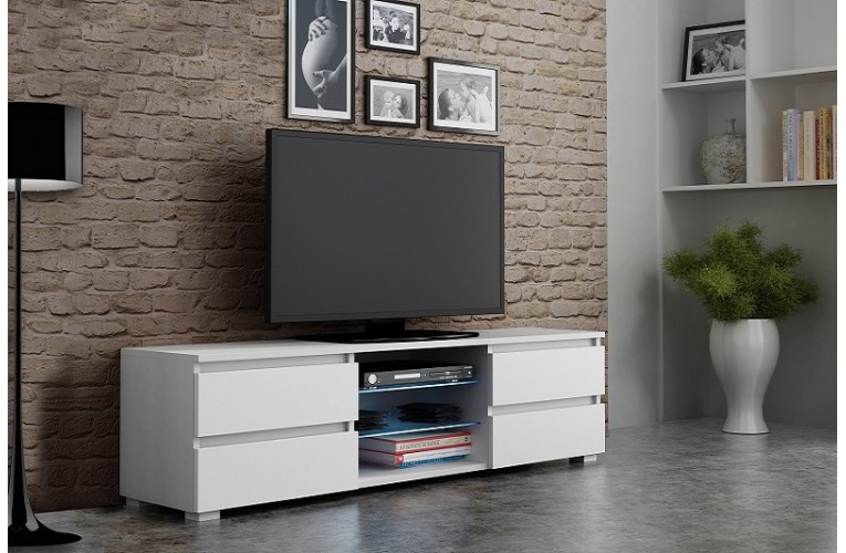 Επιπλο TV APIS 4 ΛΕΥΚΟ
