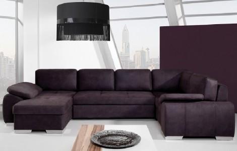 Καναπές ENZO Ι σε σχήμα Π  345Χ203/175Χ84