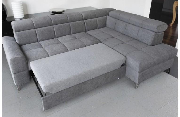 Καναπές γωνία με κρεβατι SEMPRE 270Χ204X97