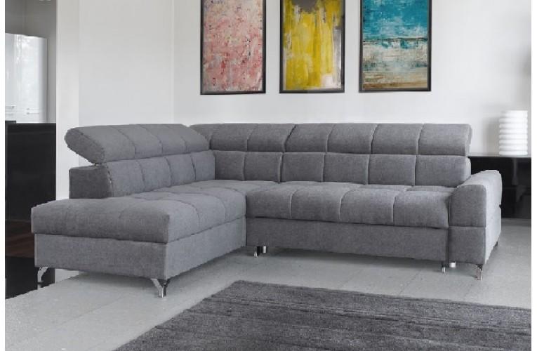 Καναπές γωνία με κρεβατι SEMPRE 270Χ204χ97