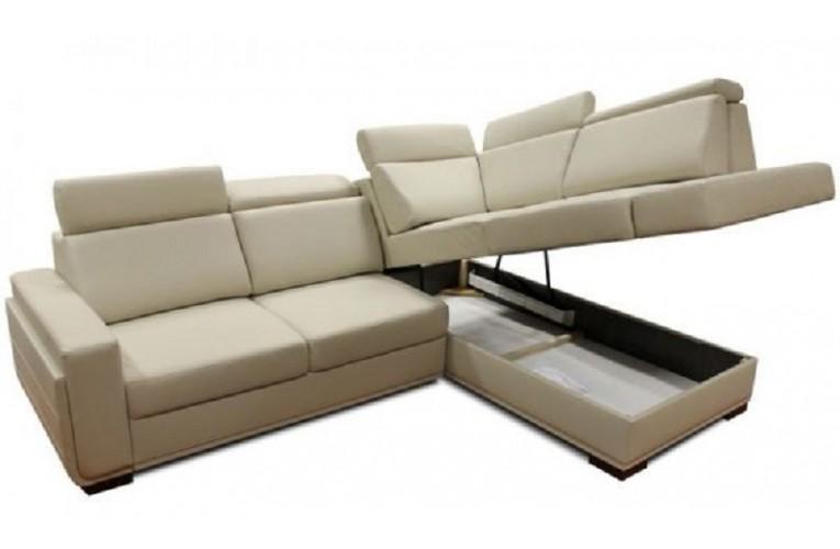 Καναπές γωνία SALVO II με μαξιλάρια ανάκλησης