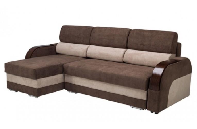 Καναπές γωνία με κρεβάτι ΚΟΜΟ 230Χ141χ90