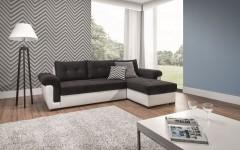 Καναπές γωνία με κρεβάτι MILANO 265Χ159χ84