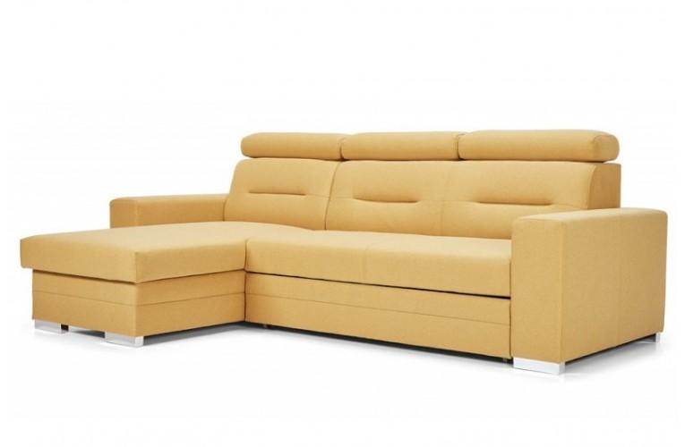 Καναπές γωνια κρεβατι TEGGY 265Χ163Χ90